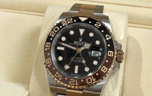 GMTマスター2 黒文字盤 SS/エバーローズゴールド 126711CHNR ランダム