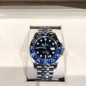 GMTマスターII 青黒ベゼル 黒文字盤 126710BLNR ランダム(新品同様品)