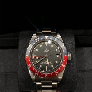 ブラックベイ GMT 青赤ベゼル 79830RB(新品同様品)